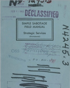 Office of Strategic Services (OSS) 1944 Manual