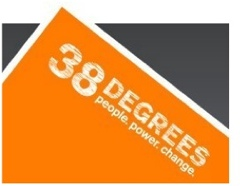 38 degrees - the angle beyond which an avalanche can happen. Clever!