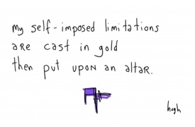 Taking 'be critical' bit far?..... link to gapingvoid below