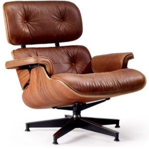 Eames Chair - Perfect for watching the 6 Nations
