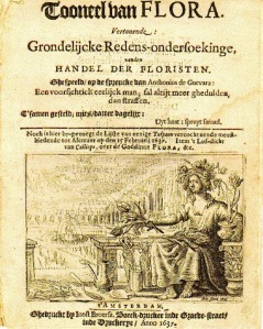 1637 Tulipmania Pamphlet