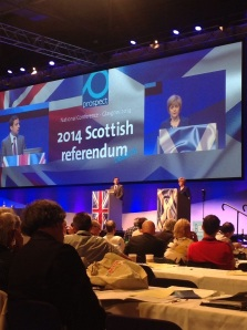 A lively debate on the Scottish referendum