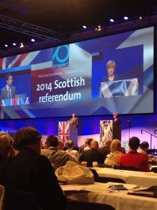 A lively debate on the Scottish referendum