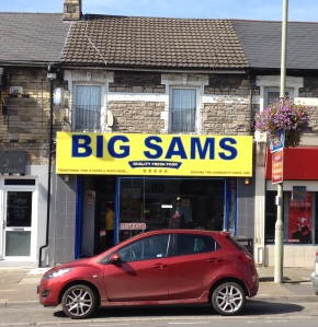 High Tech meets Traditional Fish and Chips at BIG SAMS
