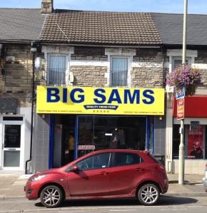 High Tech meets Traditional Fish and Chips at BIG SAMS
