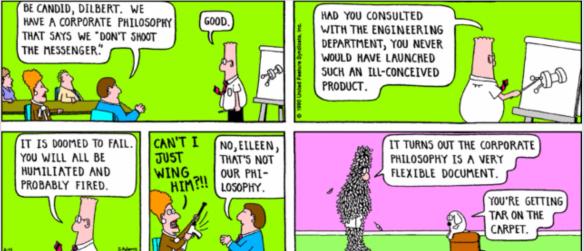 Dilbert by Scott Adams Feb 1990.