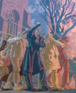 Newport Chartist Riots 1839, 22 shootings. Details below.