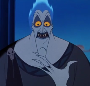 Hades from Disney's Hercules  A serious Axe to Grind with the Olympus bosses