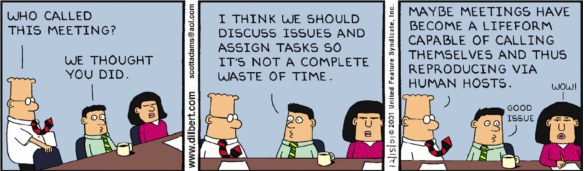 Dilbert by Scott Adams 15th December 2001