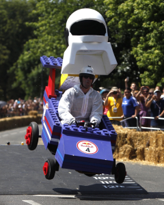 Red Bull Soap Box races - not sure if this reaches F1