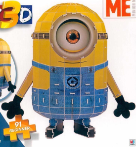 Me as a 3D Jigsaw Puzzle of a Corporate Planning and Reporting Minion