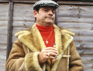 "Del Boy Trotter, Risk Management Advisor, ""Who Dares Wins"""