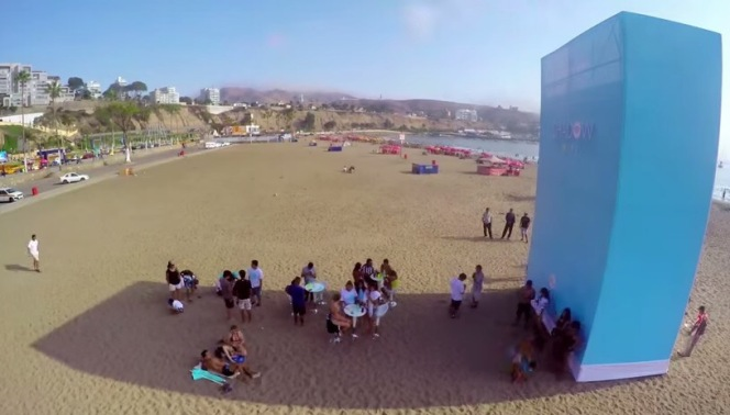 Guess what these people are doing - sun soaked selfies….