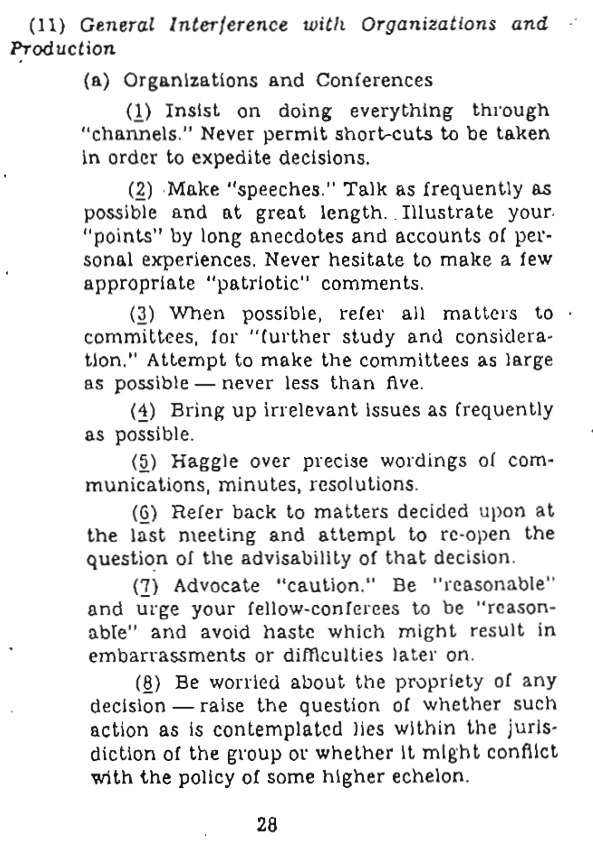 Original OSS Guidance