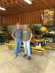 Bespoke Cranberry harvesting equipment with Jeff LFleur