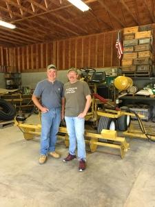 Bespoke Cranberry harvesting equipment with Jeff LFleur